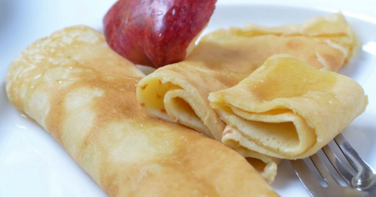 Apple Recipes For Kids  Recipes for Kids Homemade Crepes with Apple Butter