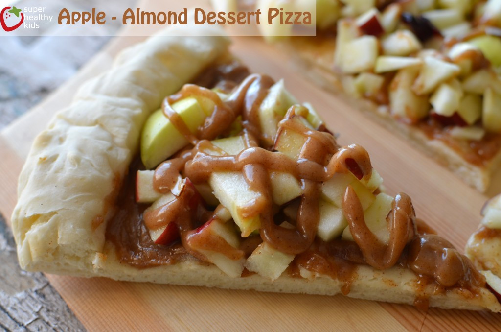 Apple Recipes For Kids  Apple Almond Dessert Pizza Recipe