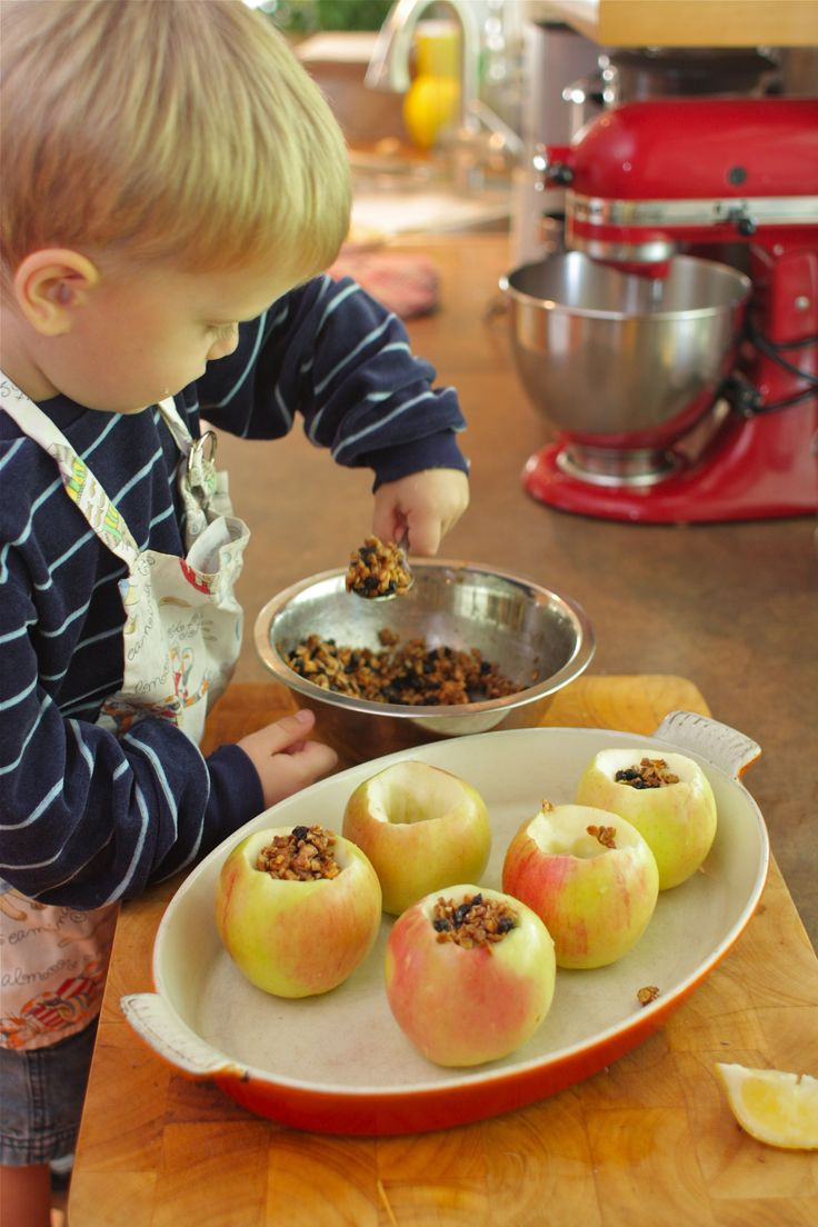 Apple Recipes For Kids  Apple Recipe to make with kids
