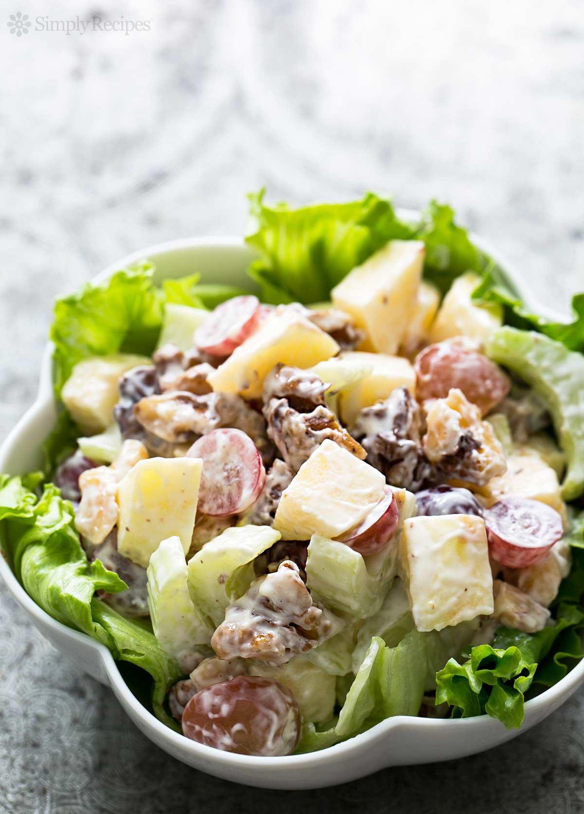 Apple Salad Recipes  Waldorf Salad Recipe