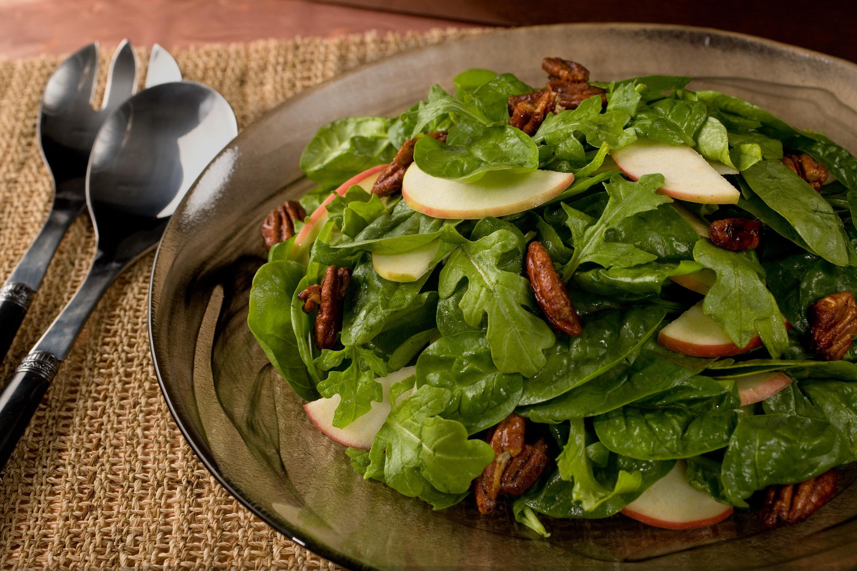 Apple Salad Recipes  spiced pecan apple salad