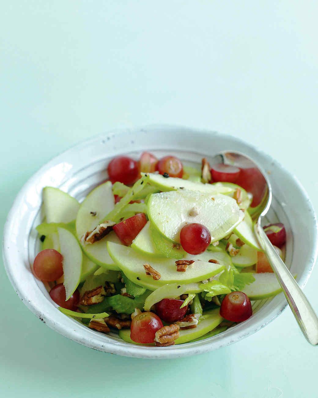 Apple Salad Recipes  Apple Grape and Celery Salad Recipe