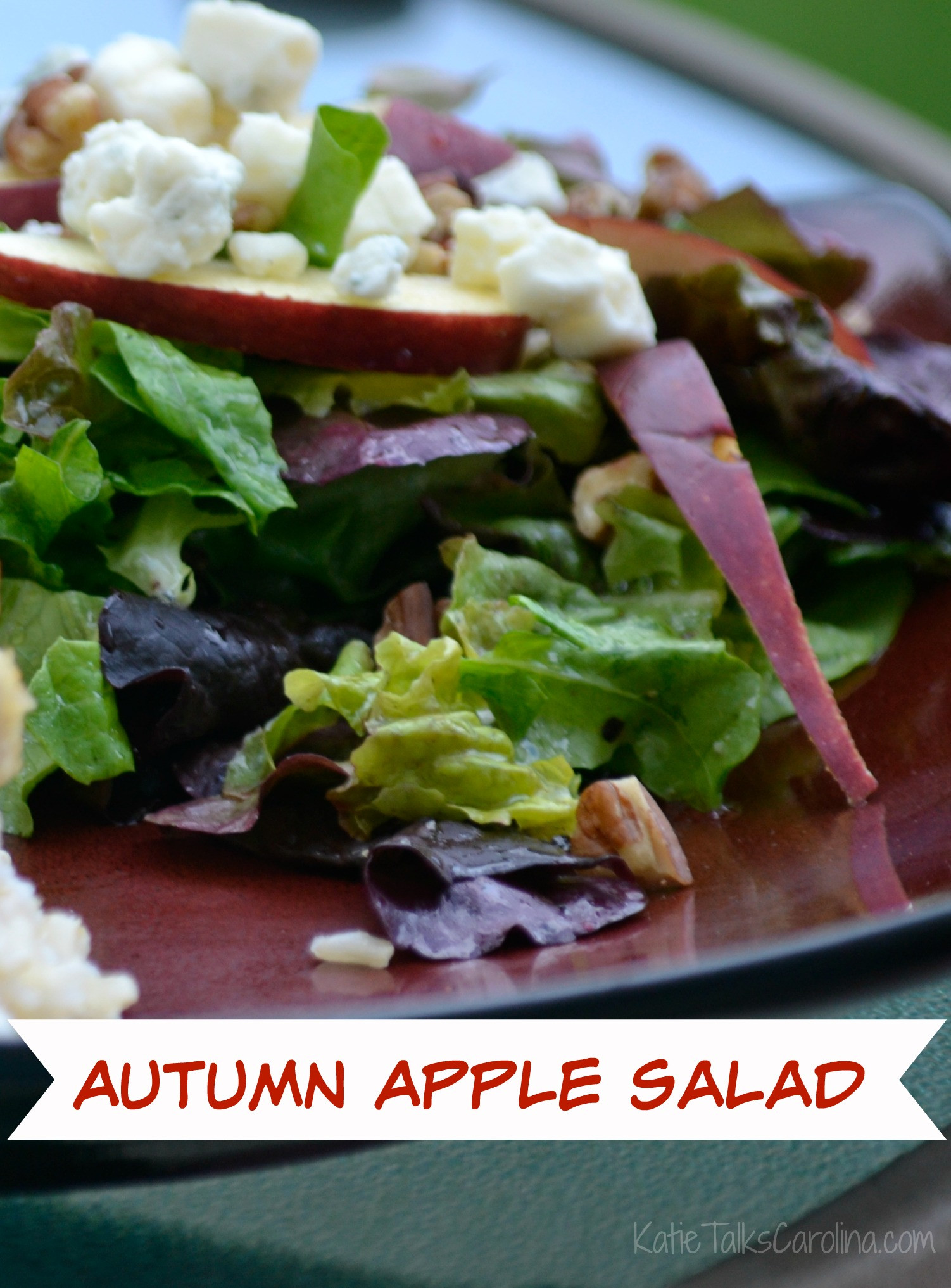 Apple Salad Recipes  Autumn Apple Salad Recipe Katie Talks Carolina
