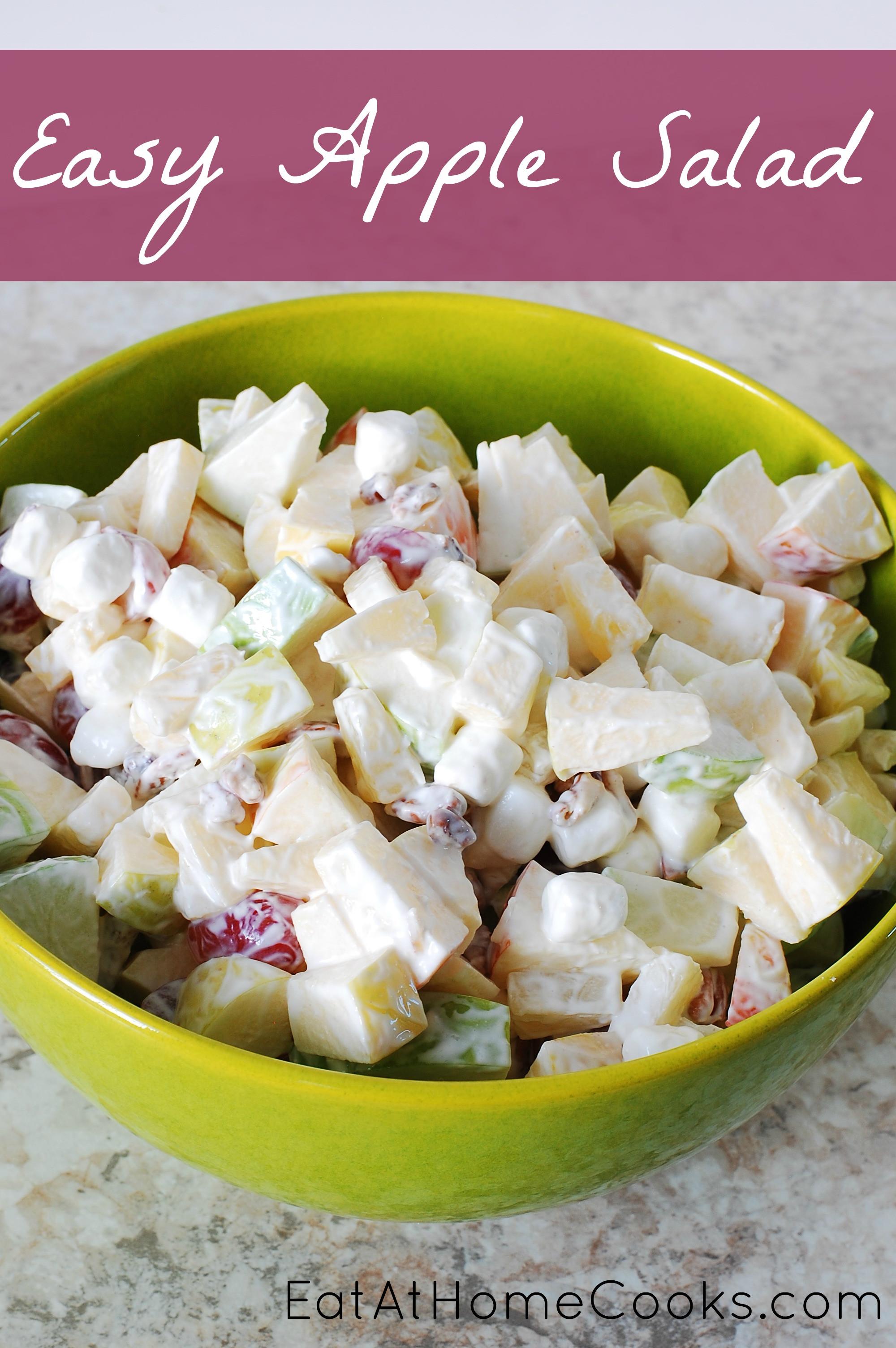 Apple Salad Recipes  Easy Apple Salad Eat at Home
