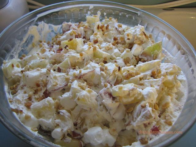 Apple Salad Recipes  Recipe Taffy Apple Salad The Night Owl Mama