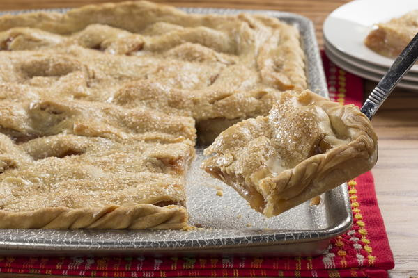 Apple Slab Pie Recipe  Apple Slab Pie