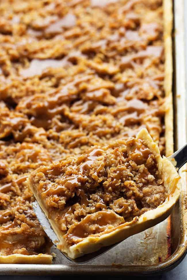 Apple Slab Pie Recipe  Caramel Apple Slab Pie The Recipe Critic