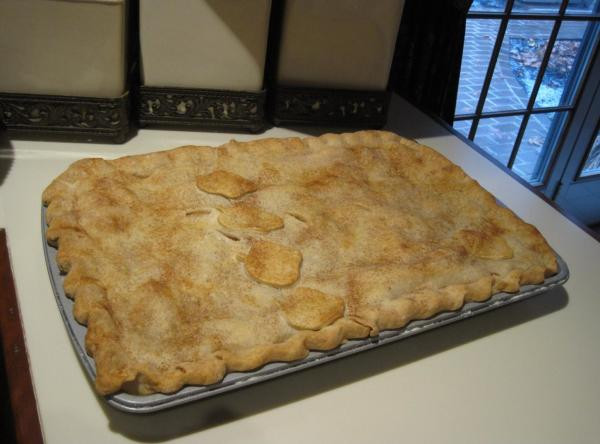 Apple Slab Pie Recipe  Apple Slab Pie Recipe