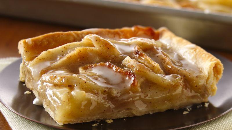 Apple Slab Pie Recipe  Apple Slab Pie Recipe BettyCrocker