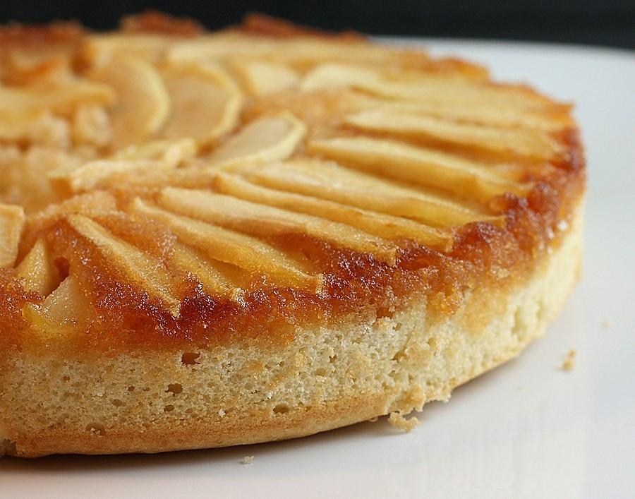 Apple Upside Down Cake  Apple Upside Down Cake Recipe — Dishmaps