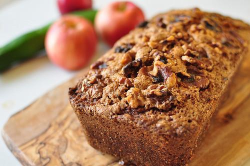 Apple Zucchini Bread  Apple Zucchini Bread Meg s Everyday Indulgence