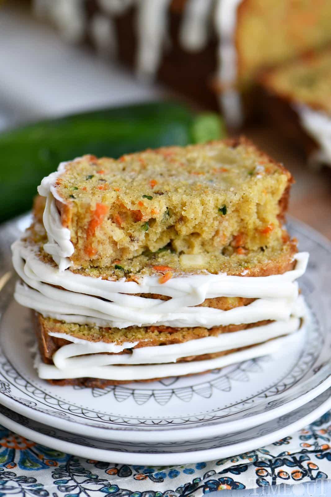 Apple Zucchini Bread  Carrot Apple Zucchini Bread Mom Timeout
