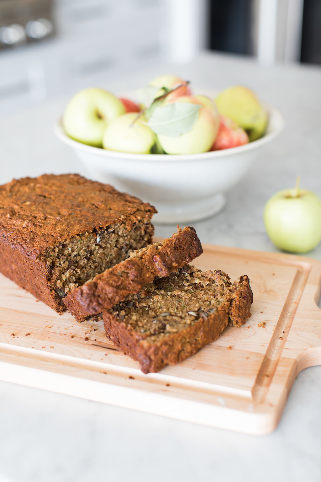 Apple Zucchini Bread  Apple Zucchini Bread Fraiche Nutrition