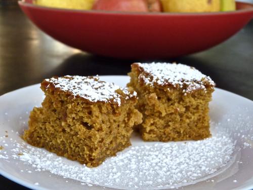 Applesauce Cake Recipe  Pumpkin applesauce cake Paula Deen light