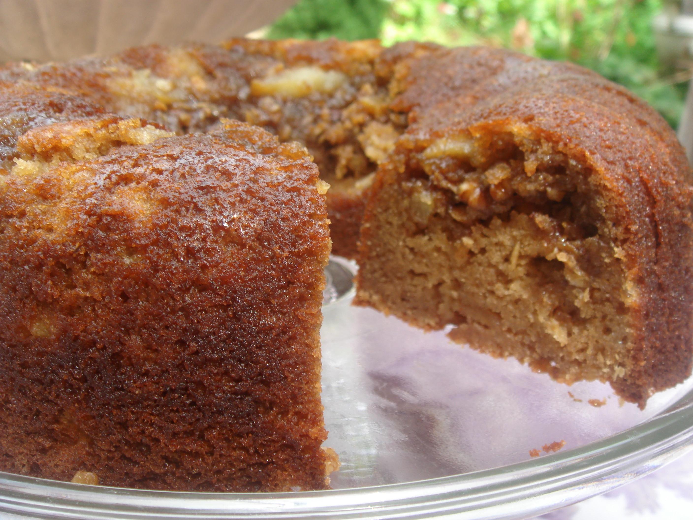 Applesauce Cake Recipe  Apple Cider Applesauce Coffee Cake