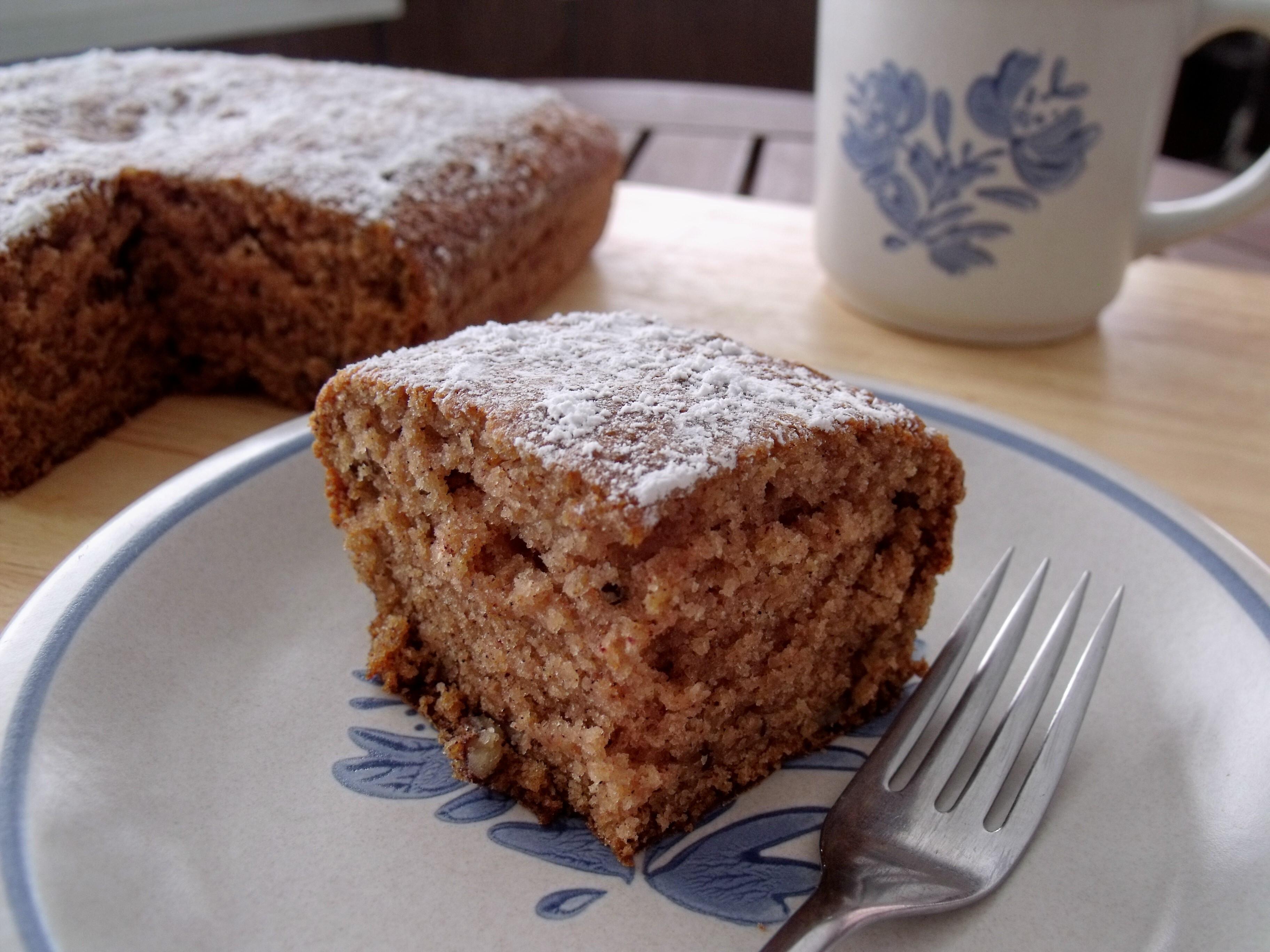 Applesauce Cake Recipe  Applesauce Pecan Spice Cake Cindy s Recipes and Writings