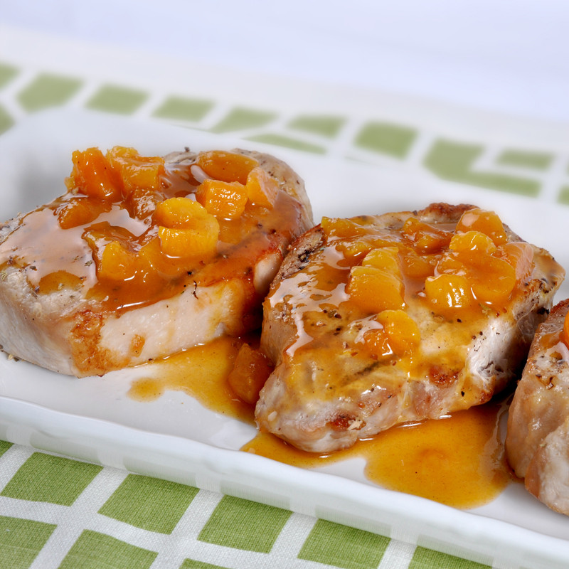 Apricot Pork Chops  Apricot Glazed Pork Chops Simply Better Living