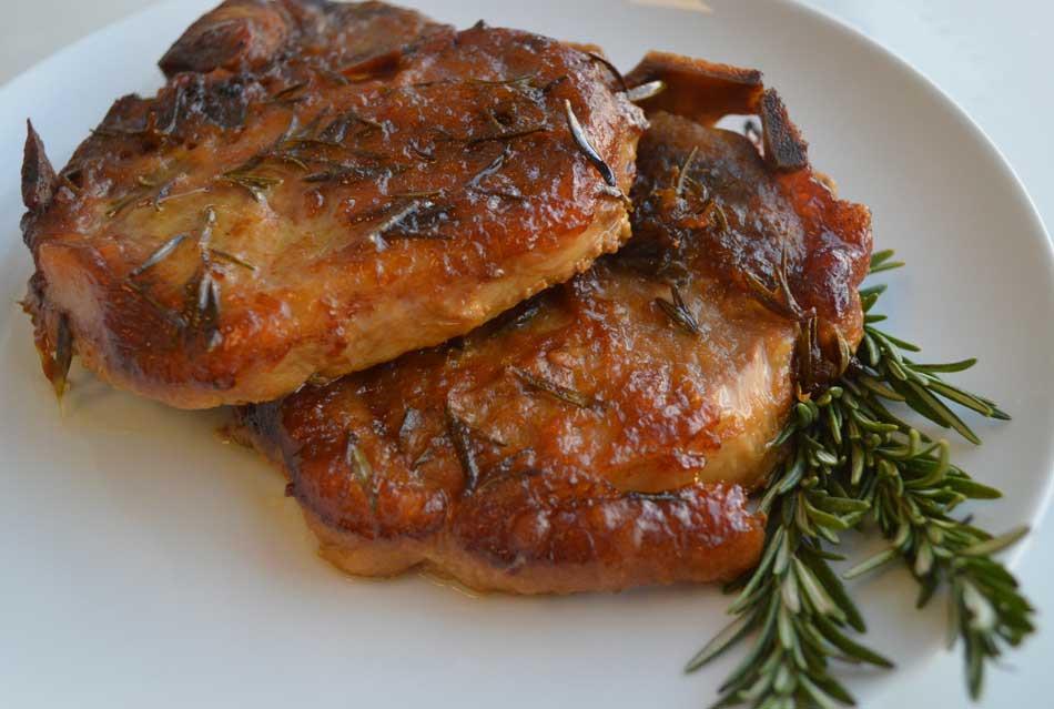 Apricot Pork Chops  Recipes