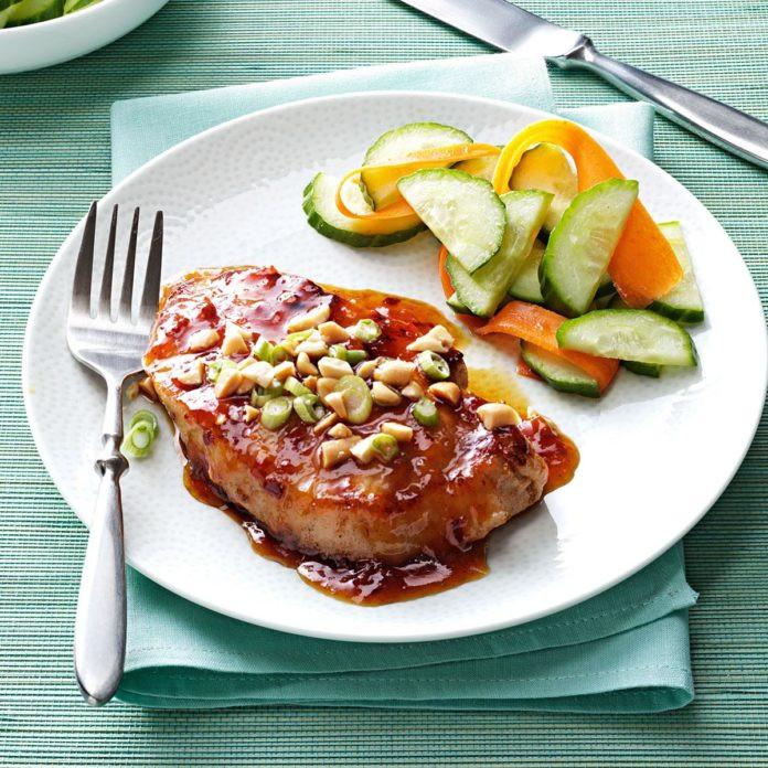 Apricot Pork Chops  Pork Chops with Apricot Glaze Recipe