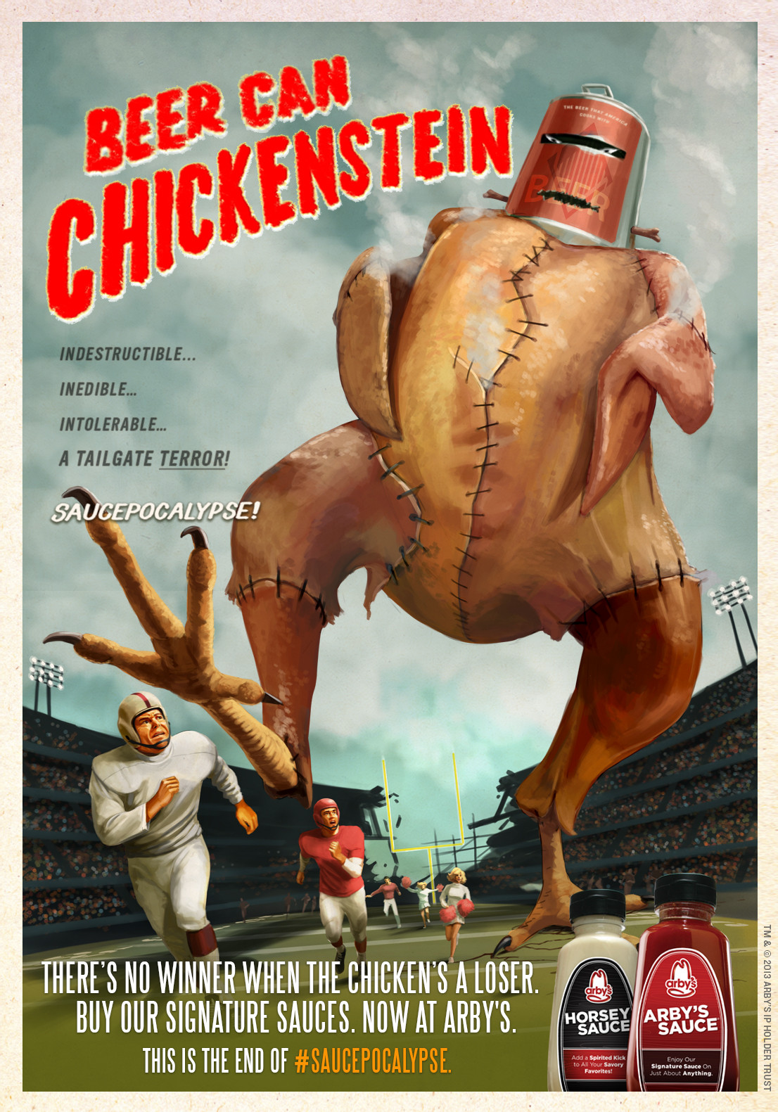 Arby'S Chicken Salad  Arby s Outdoor Advert By CP B Saucepocalypse 5