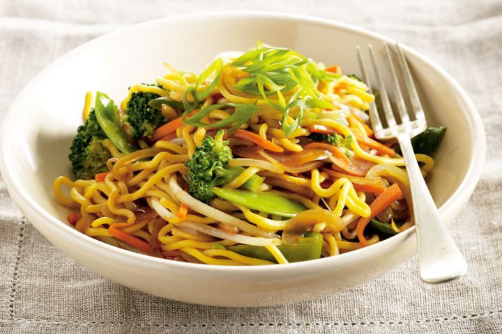 Are Egg Noodles Healthy  Chinese egg noodle and ve able stir fry