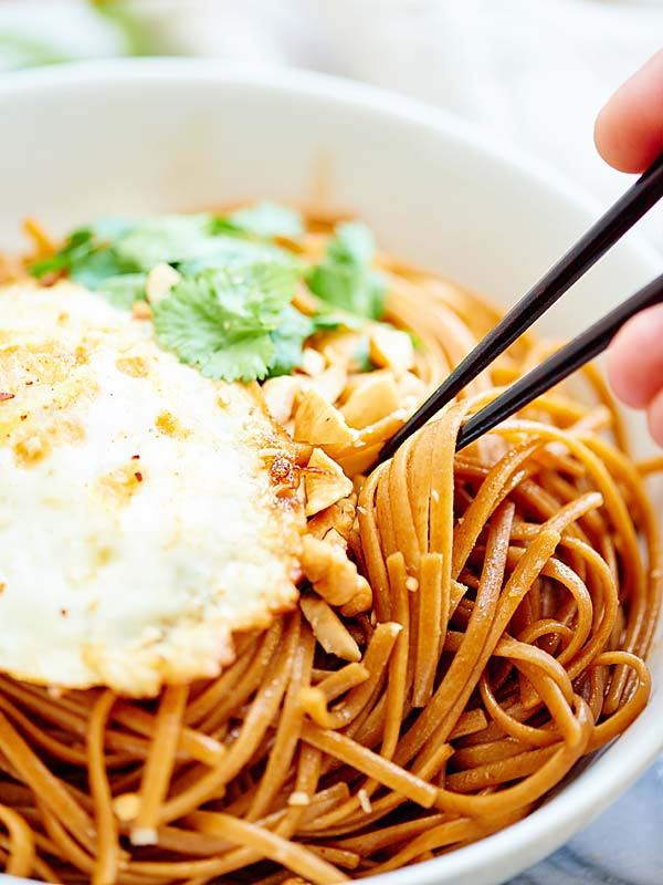 Are Egg Noodles Healthy  Easy Asian Noodles Recipe Ve arian & Whole Wheat Pasta