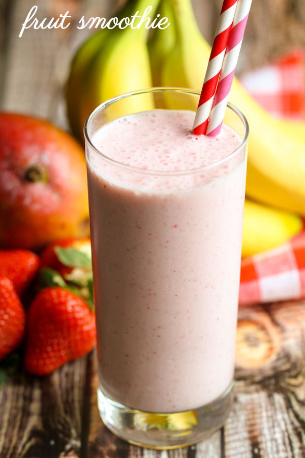 Are Fruit Smoothies Healthy  Fruit Smoothie Recipe