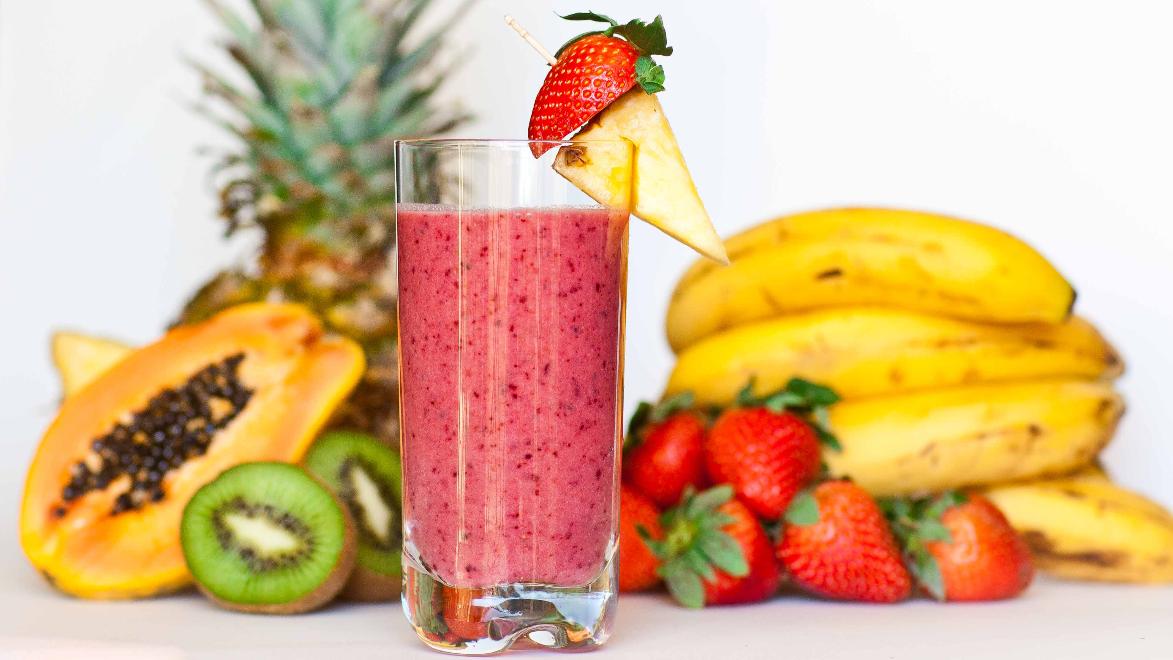 Are Fruit Smoothies Healthy  Tropical Fruit Smoothie Tatyanas Everyday Food