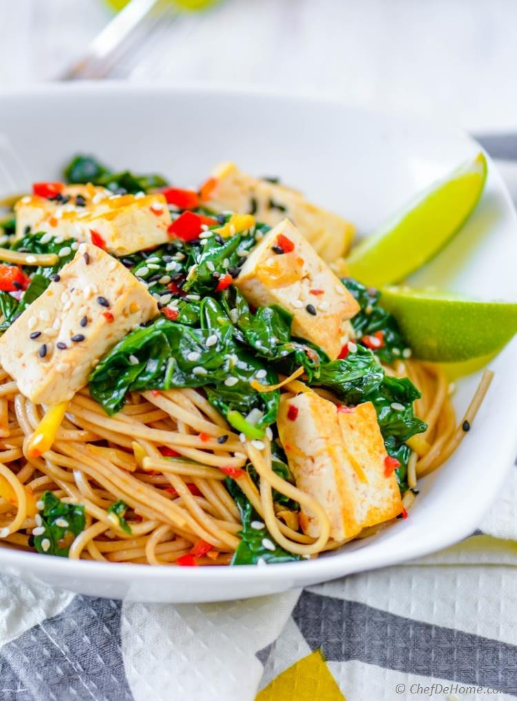 Are Soba Noodles Healthy  Buckwheat Soba Noodles with Coconut Lime Tofu Recipe