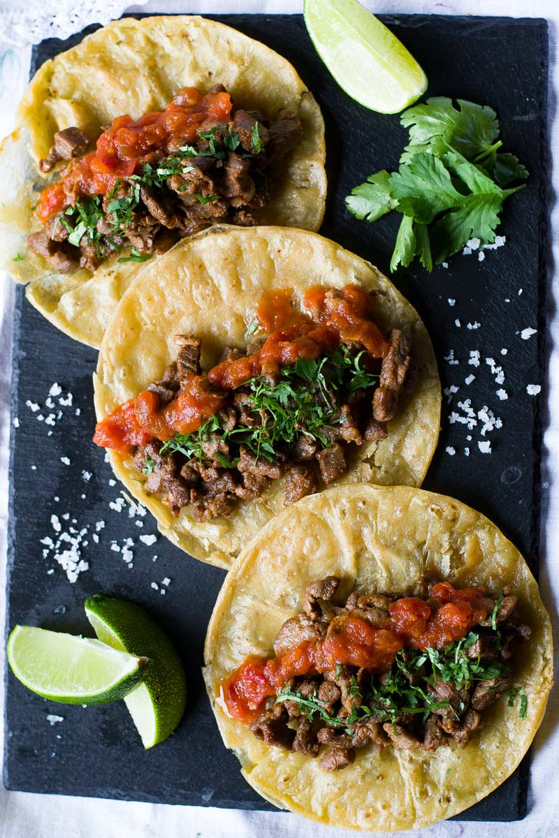 Are Tacos Mexican  Mexican Steak Tacos – Wanderspice