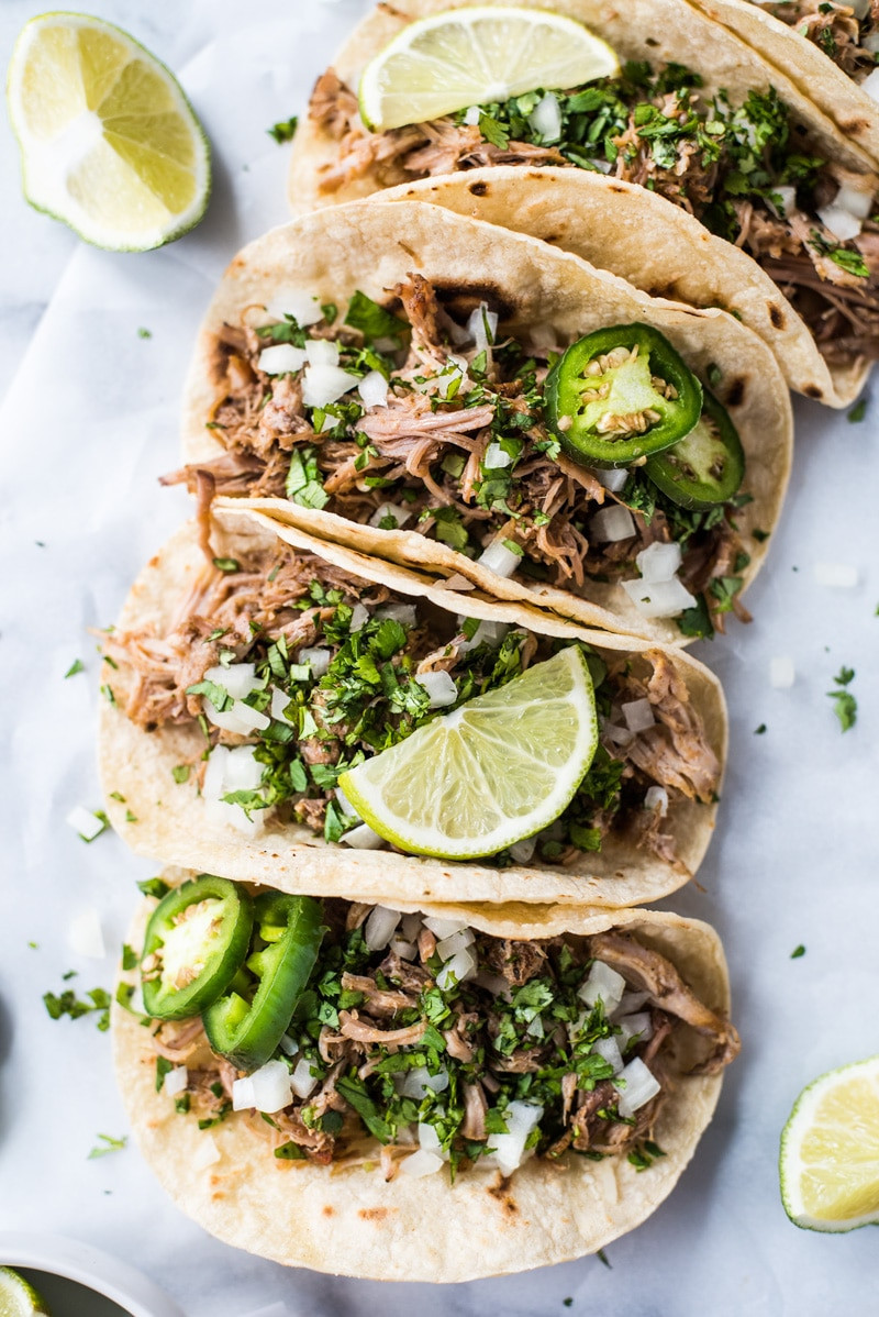 Are Tacos Mexican  The BEST Mexican Carnitas Recipe Isabel Eats Mexican