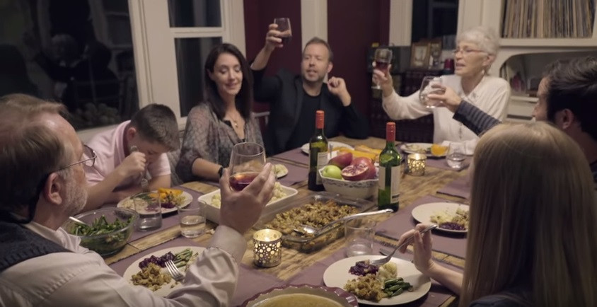 Around The Dinner Table  This How An Enlightened Family Argument Might Sound Around