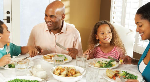 Around The Dinner Table  Meals To her Strengthen Family Ties Response Seattle
