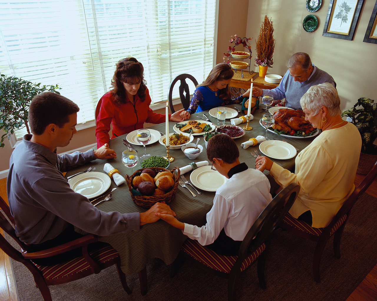 Around The Dinner Table  Pastoral Thoughts of Fr Ed Namiotka Sitting