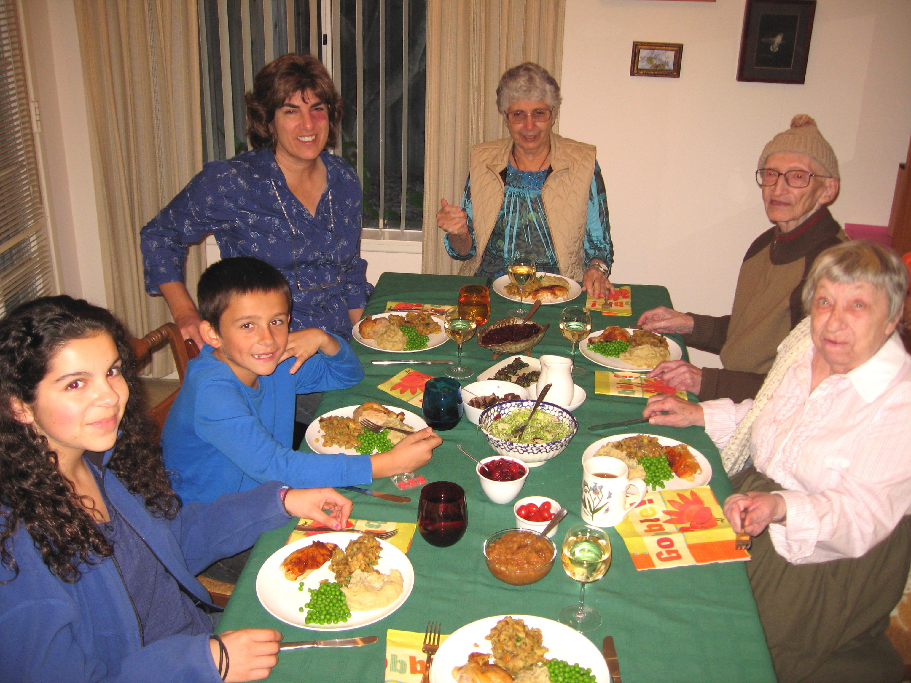 Around The Dinner Table  Shockinglydelicious Thanksgiving 2010 Menu — Shockingly