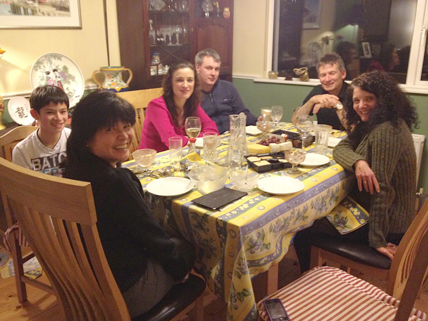 Around The Dinner Table  Around the Dinner Table