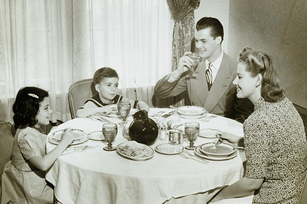 """Around The Dinner Table  What Makes a """"Home"""""""