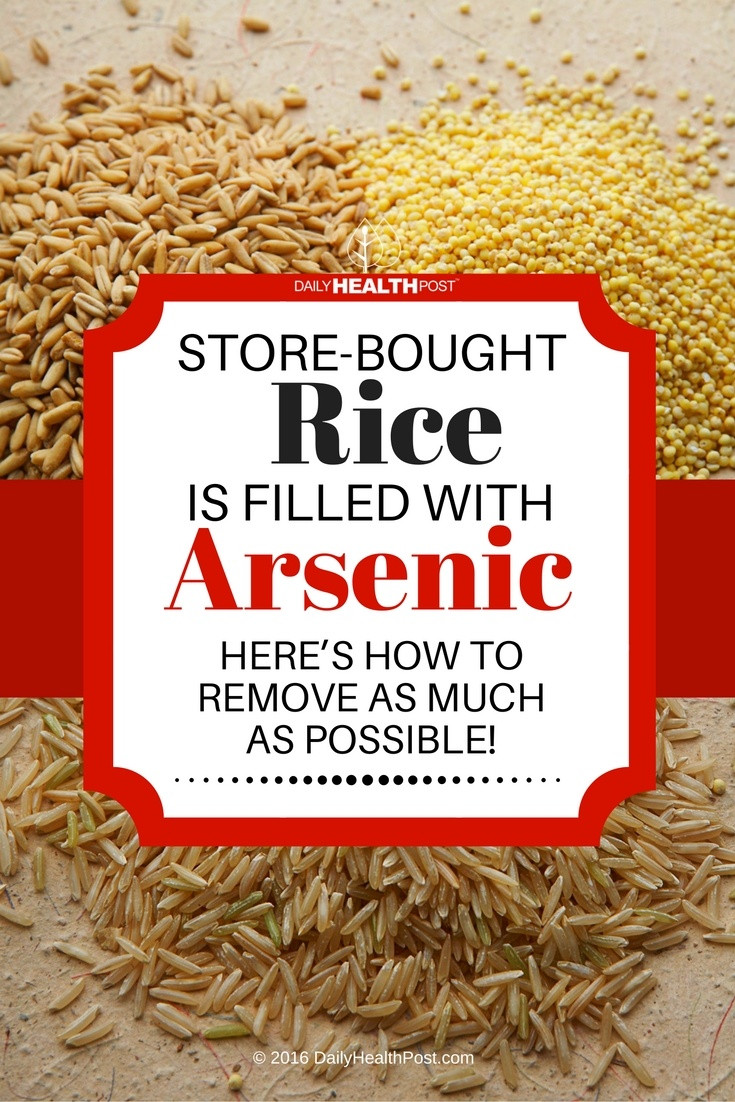 Arsenic In Brown Rice  Arsenic In Rice Is Avoidable Here s What You Can Do
