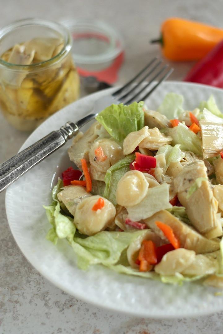 Artichoke Pasta Salad  Simple Artichoke Pasta Salad Country Cleaver