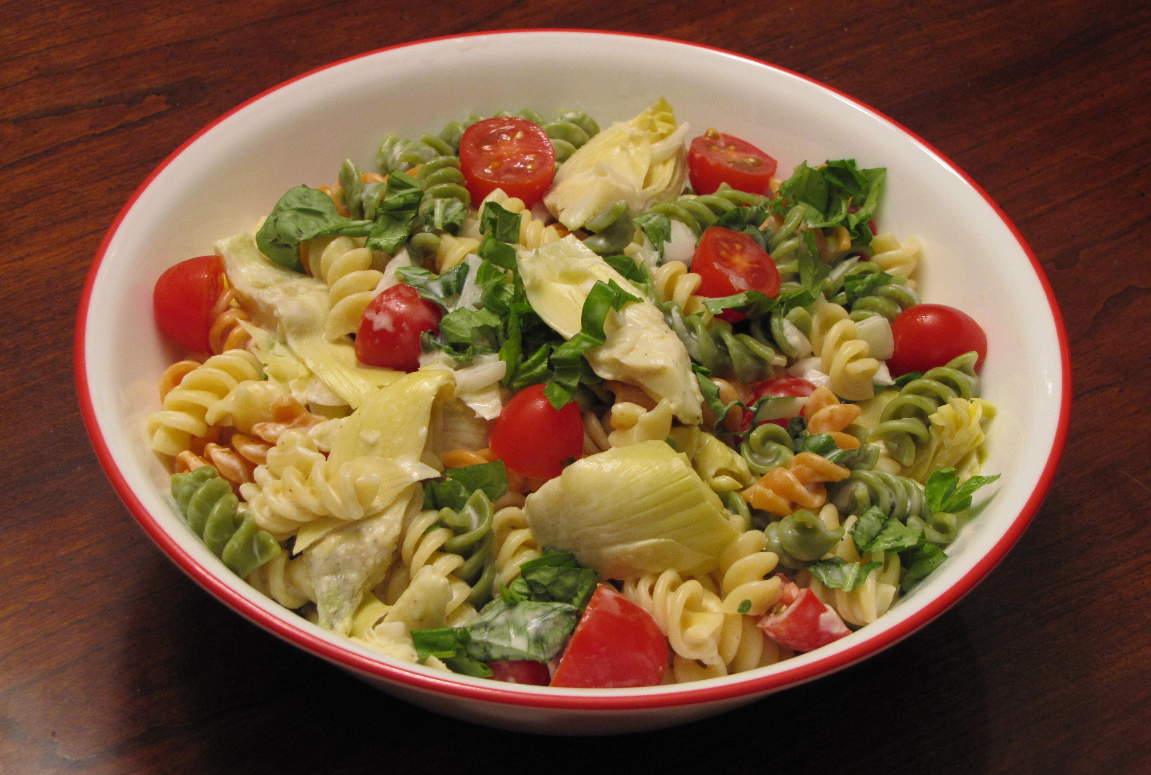 Artichoke Pasta Salad  Artichoke Lover's Pasta Salad – VegCharlotte