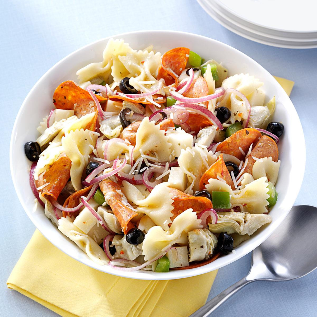 Artichoke Pasta Salad  Pepperoni Artichoke Pasta Salad Recipe