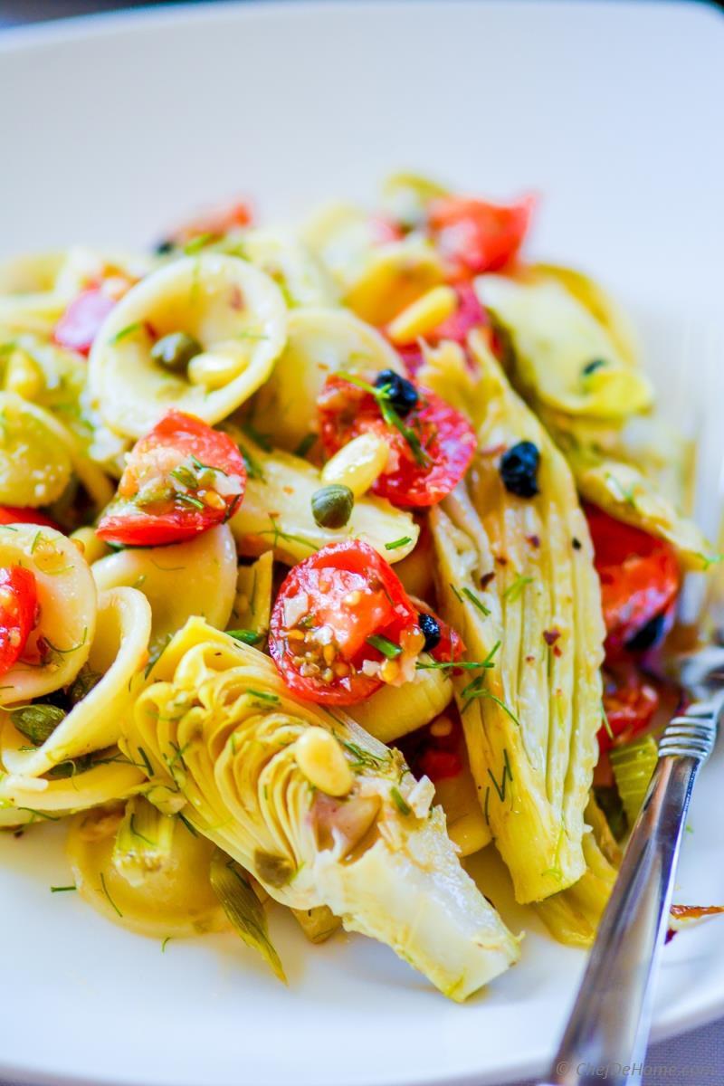 Artichoke Pasta Salad  Roasted Fennel and Artichoke Pasta Salad Recipe