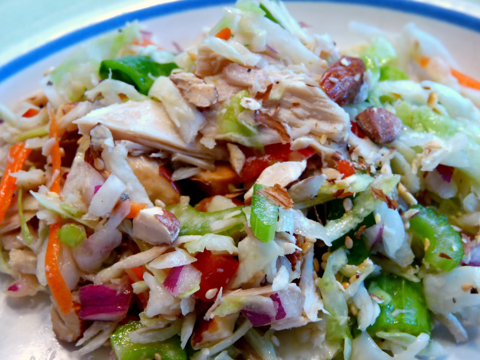 Asian Cabbage Salad  What s for Dinner Asian Cabbage Salad