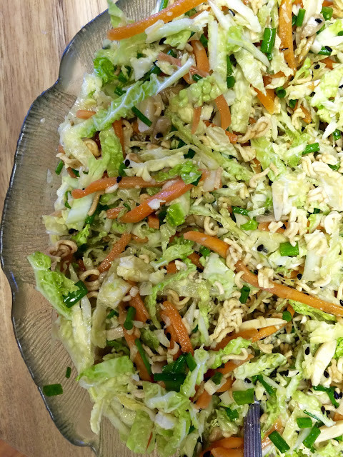 Asian Cabbage Salad  Mennonite Girls Can Cook Crunchy Asian Cabbage Salad