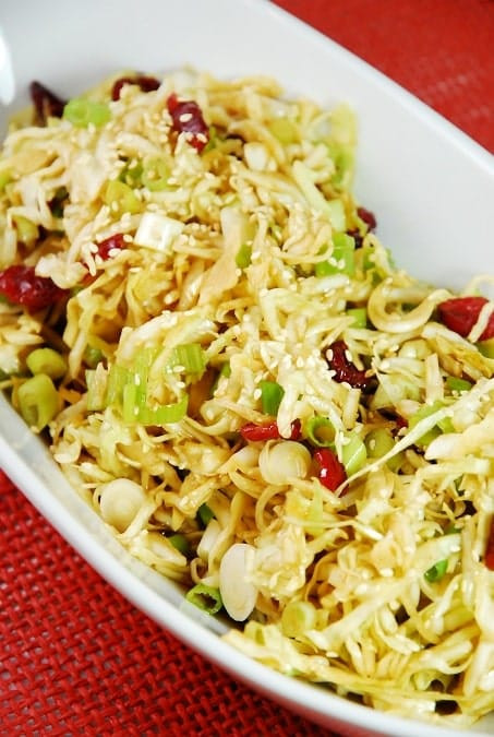 Asian Cabbage Salad  Weight Watchers Cabbage Recipes