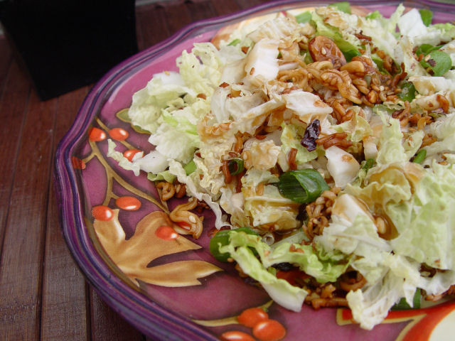 Asian Cabbage Salad  Chinese Cabbage Salad