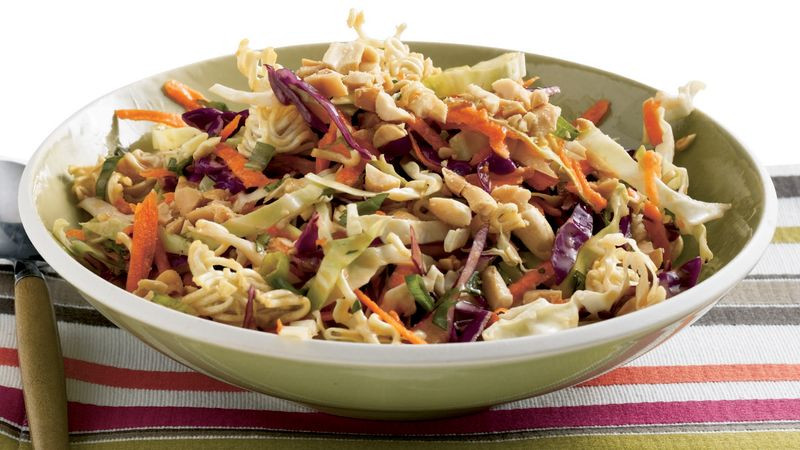 Asian Cabbage Salad  Easy Asian Cabbage Salad recipe from Betty Crocker