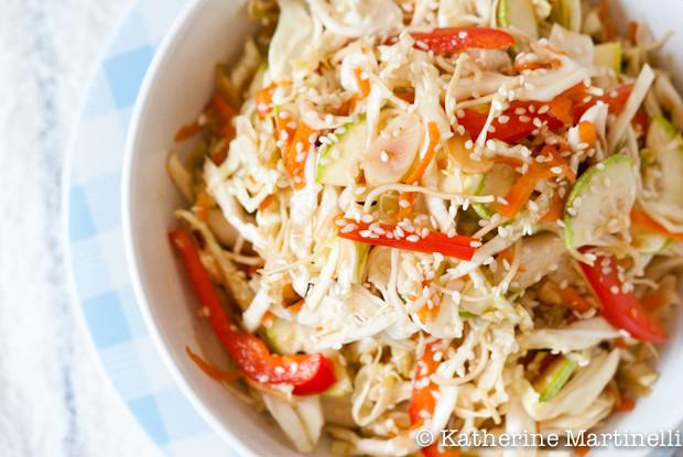 Asian Cabbage Salad  Asian Cabbage Salad Recipe