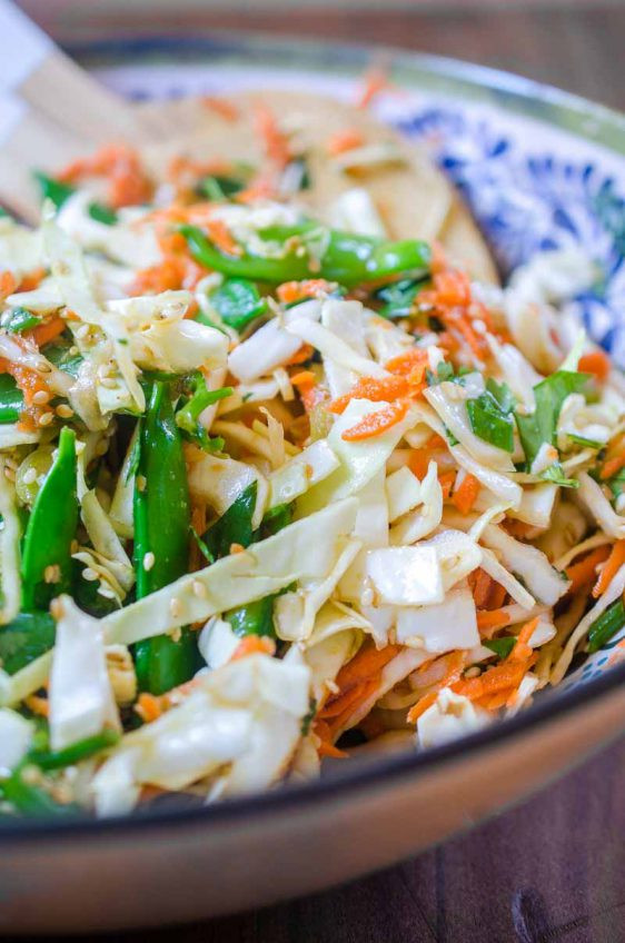 Asian Cabbage Salad  Asian Cabbage Salad Life s Ambrosia