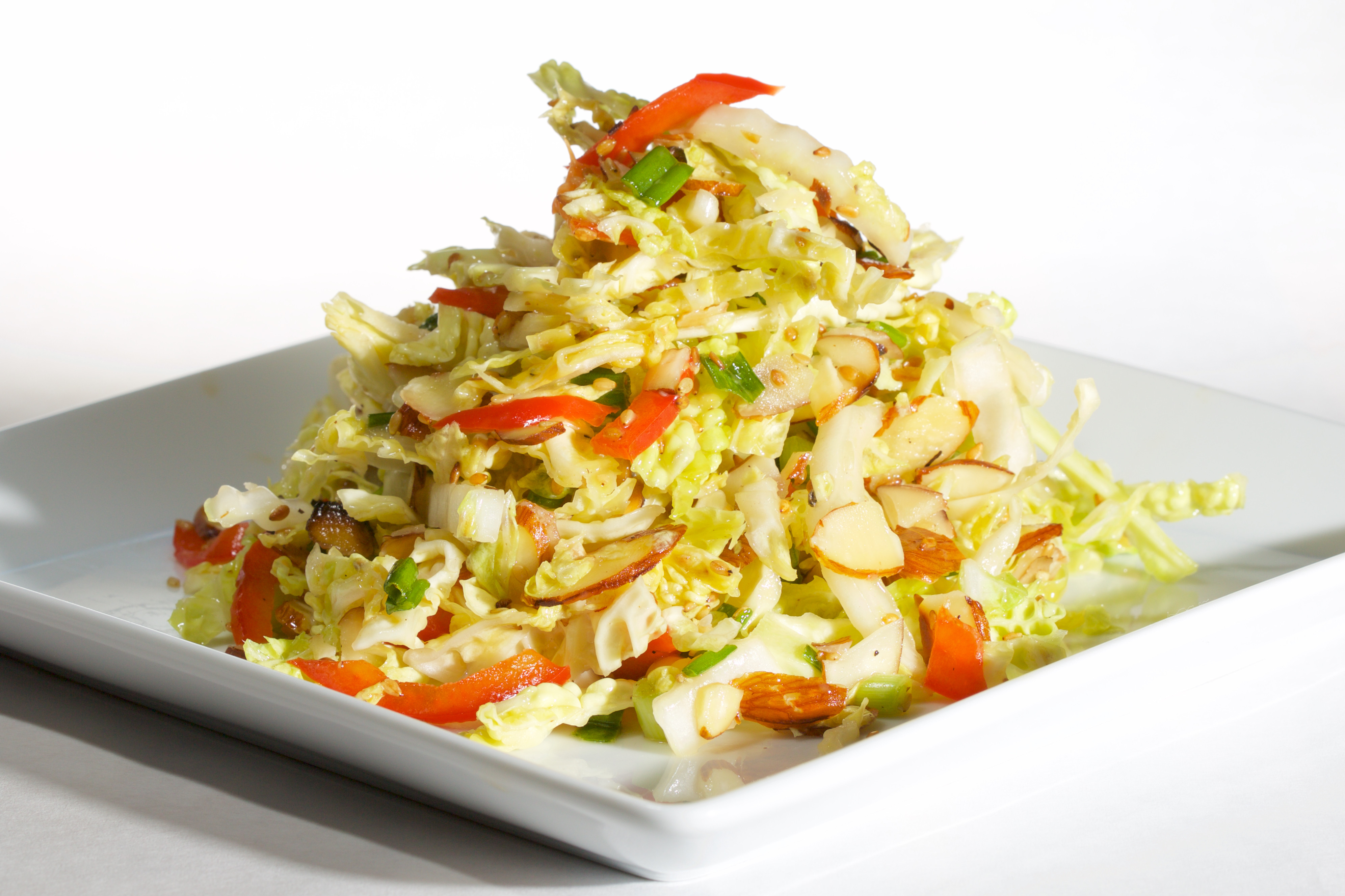 Asian Cabbage Salad  Fresh & Light Asian Cabbage Salad – A Food Lover s Life